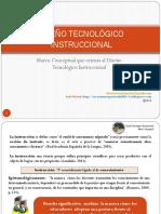 Diseño Instruccional Tecnológico (Marco Conceptual) 2016-3