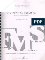 Dictees Musicales Vol1 Aluno