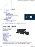 Apc Smart-ups Rt 3000va 120v