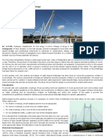 A Study on Cable Stayed Footbridge
