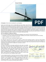 Design of Longest Span Cable Stayed Bridge