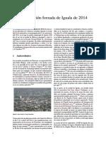 Desaparición Forzada de Iguala de 2014