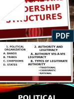 Political Leadership Structure