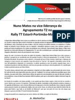 Press Nuno Matos 10.06.06 Etapa 1 Estoril-Marrakeche