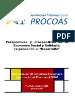 Memorias XI seminario PROCOAS- Montevideo, Uruguay. 2015.pdf