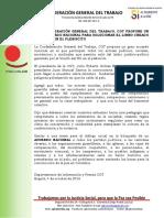 Acuerdo Nacional propone la CGT