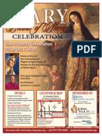 Mary, Mother of Mercy Celebration