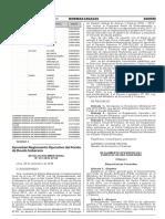 Aprueban Reglamento Operativo del Fondo de Deuda Soberana