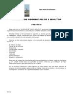 Manual Charlas de Seguridad 05 Minutos 2010