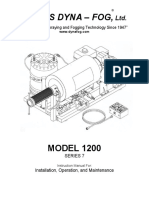 Manual Termonebulizador Modelo 1200