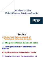 Overview Petrol Basins India