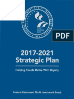 FRTIB Strategic Plan 2017-2021