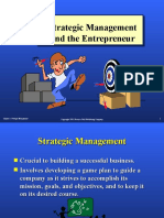 Chapter 3 Strategic Mgt