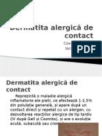 Dermatita Alergică de Contact