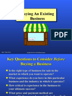 Chapter 5 Buying a Business