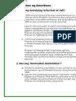 Filipino Assignment