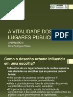 A Vitalidade Dos Lugares Públicos - Completo