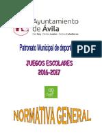 Normativa General 2016-2017