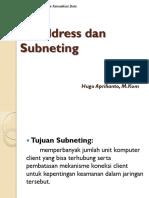 IP Address Dan Subneting