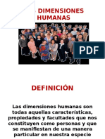 DIMENSIONES HUMANAS