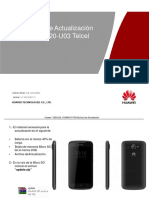 Mexico-Telcel,Manual de Actualizacion Huawei Y520-U03