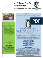 Newsletter - Week 7
