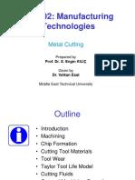 Mech202 - 2015-16 Fall - l08 - Metal Cutting