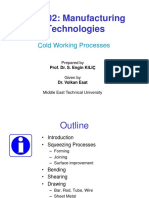 Mech202 - 2015-16 Fall - l07 - Cold Working