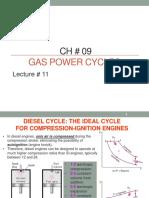 Thermodynamics Gas Power Cycles