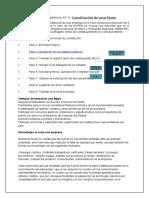 Constitución de una Pyme
