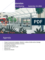Purple Line Ext. community presentation