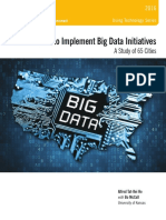 Ten Actions to Implement Big Data Initiatives