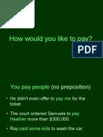 Pay+Preposition