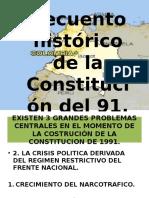 Cambios de La Constitución Del 91 Colombia