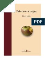 Miller, Henry - Primavera Negra