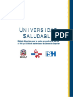 Modulos Universidad Saludable 1 de 2