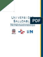 Modulos Universidad Saludable 1 de 2