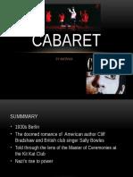 Cabaret Presentation
