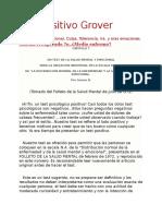 A. Test Positivo Grover y Otros Artículos