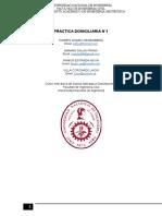 Desarrollo de la 1° practica de Mecánica de Suelos en Cimentaciones UNI 2016-2