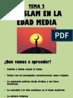 Tema 2 El Islam en La Edad Media 2