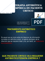 Antibioticos en Paciente Grave 05-12-15