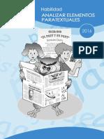 Habilidad Elementos Paratextuales 2016