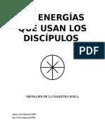 Las Energías que usan los Discípulos - Soila.doc