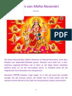Die Fees van Maha Navaratri, die Nege Nagte.