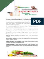 Recetas de Dietas Para Bajar de Peso Rápido Sin Rebote