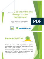 Getting to Know Uniselva Through Process Management