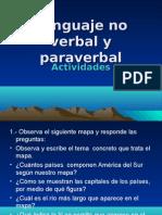 ACTIVIDAD Lenguaje No Verbal y Paraverbal PRIMERO