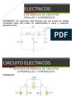 Clase 05 Circuitos Electricos Supernodos y Supermallas