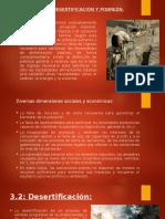 Pobreza y Desertificacion